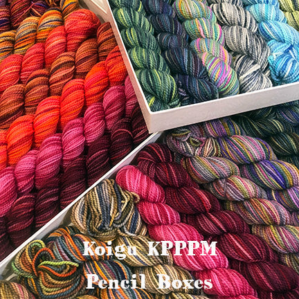Koigu Pencil Box Kit