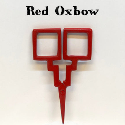 kelmscott designs scissors red oxbow