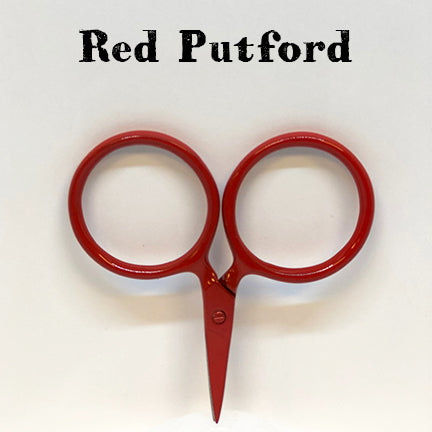 kelmscott designs scissors red putford