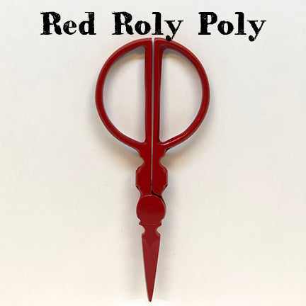 kelmscott designs scissors red roly poly