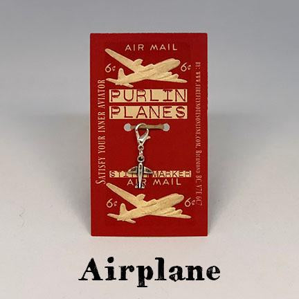 firefly notes removable stitch marker airplane