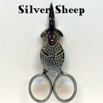 kelmscott designs scissors silver sheep