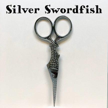 kelmscott designs scissors silver swordfish