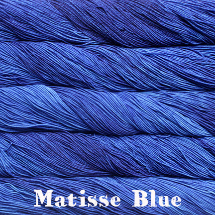 sock matisse blue