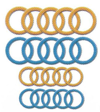 Soft Ring Markers, Jumbo 3108