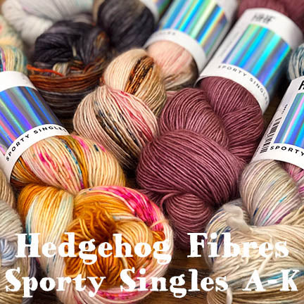 Hedgehog Sporty Singles A-K