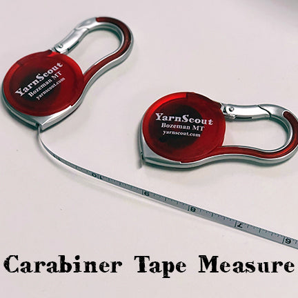 YarnScout Carabiner Tape Measure