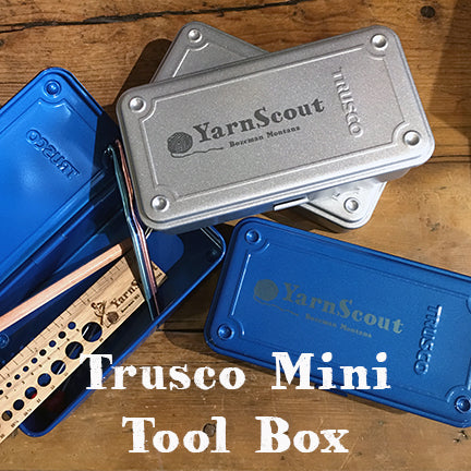 Trusco Mini Steel Tool Box T190