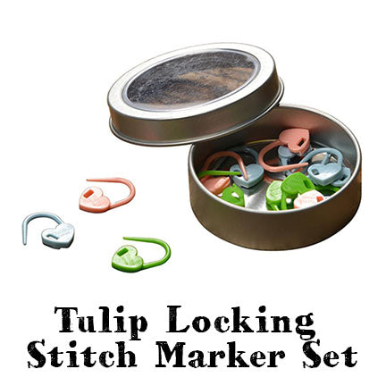 tulip locking stitch marker set main
