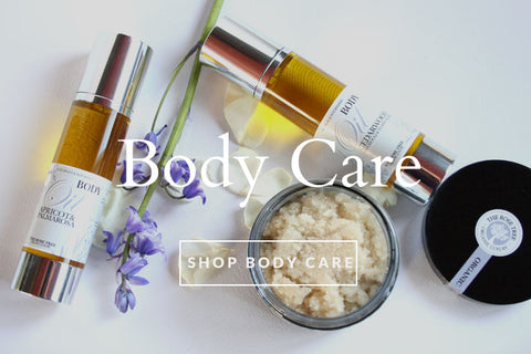 Organic Bath & Body Oils - Shop Now