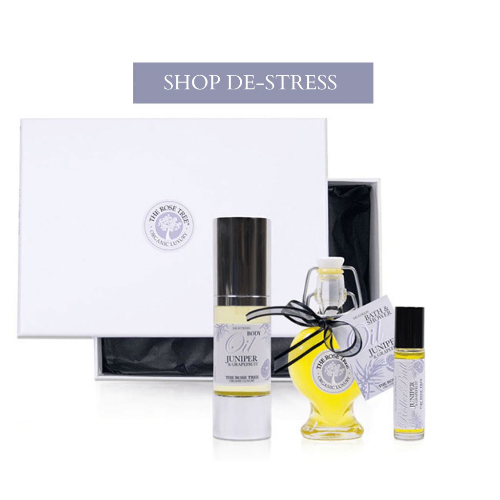 The Rose Tree De-Stress Aromatherapy Gift Collection