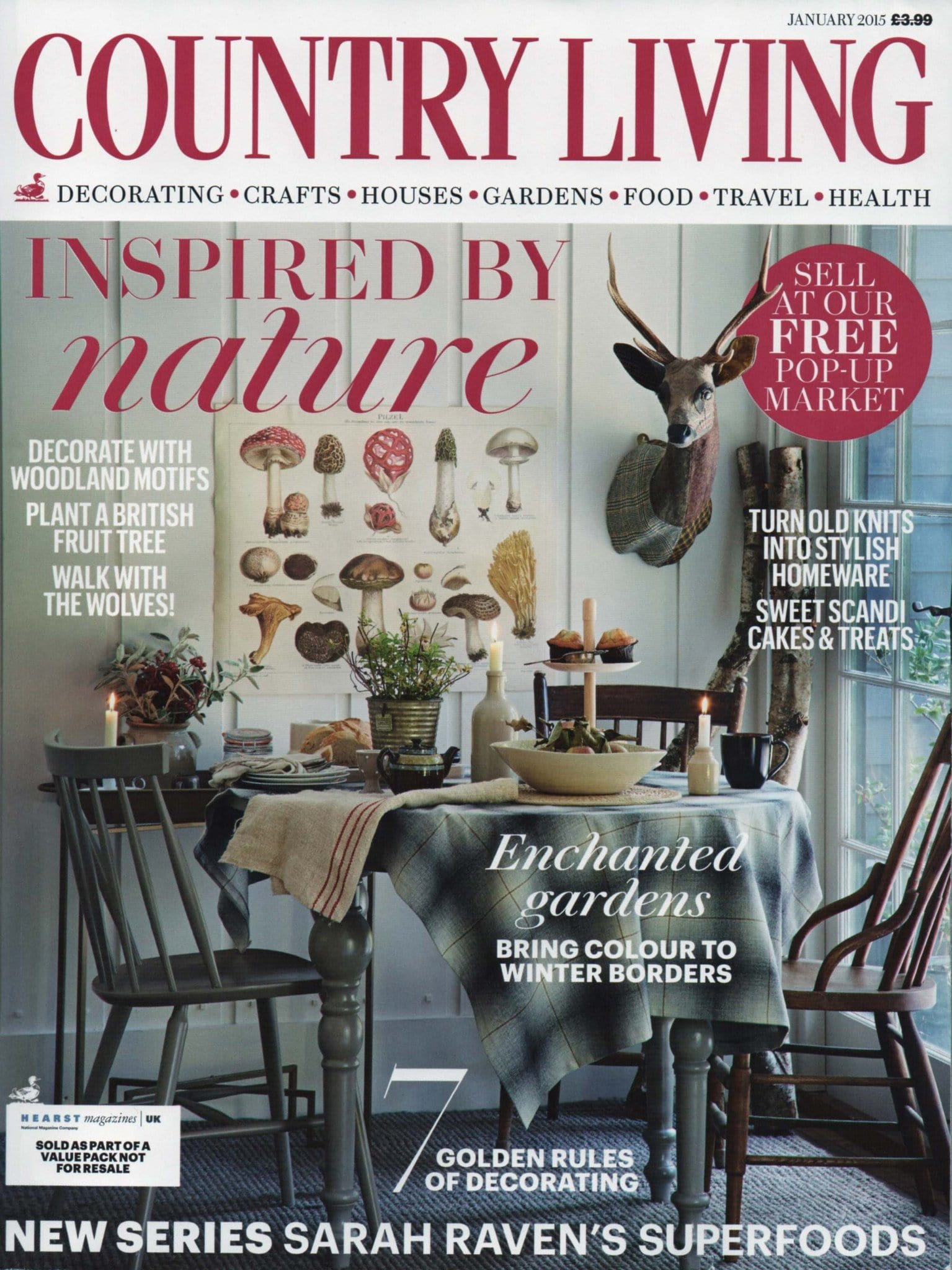 Country Living Magazine Jan 2015