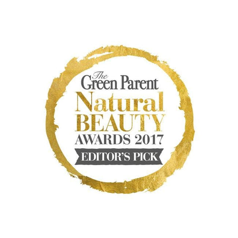 Green Parent Natural Beauty Awards 2017 - Editors Pick