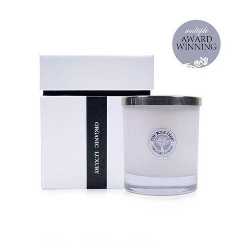 www.therosetree.co.uk Luxury Candles Luxury Aromatherapy Candle - Rose Tree No. 5 - Peace