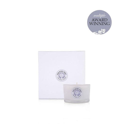 www.therosetree.co.uk Luxury Candles Luxury Natural Wax Candle - Rose Tree No. 5, Travel Size - Peace