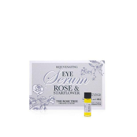 www.therosetree.co.uk Skin Care Eye Serum with Rose & Starflower - Try Me Size