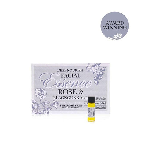 www.therosetree.co.uk Skin Care Deep Nourish Facial Essence with Rose & Blackcurrant - Try Me Size
