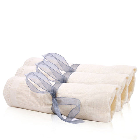 www.therosetree.co.uk Skin Care Organic Muslin Cloth - Pack of 3