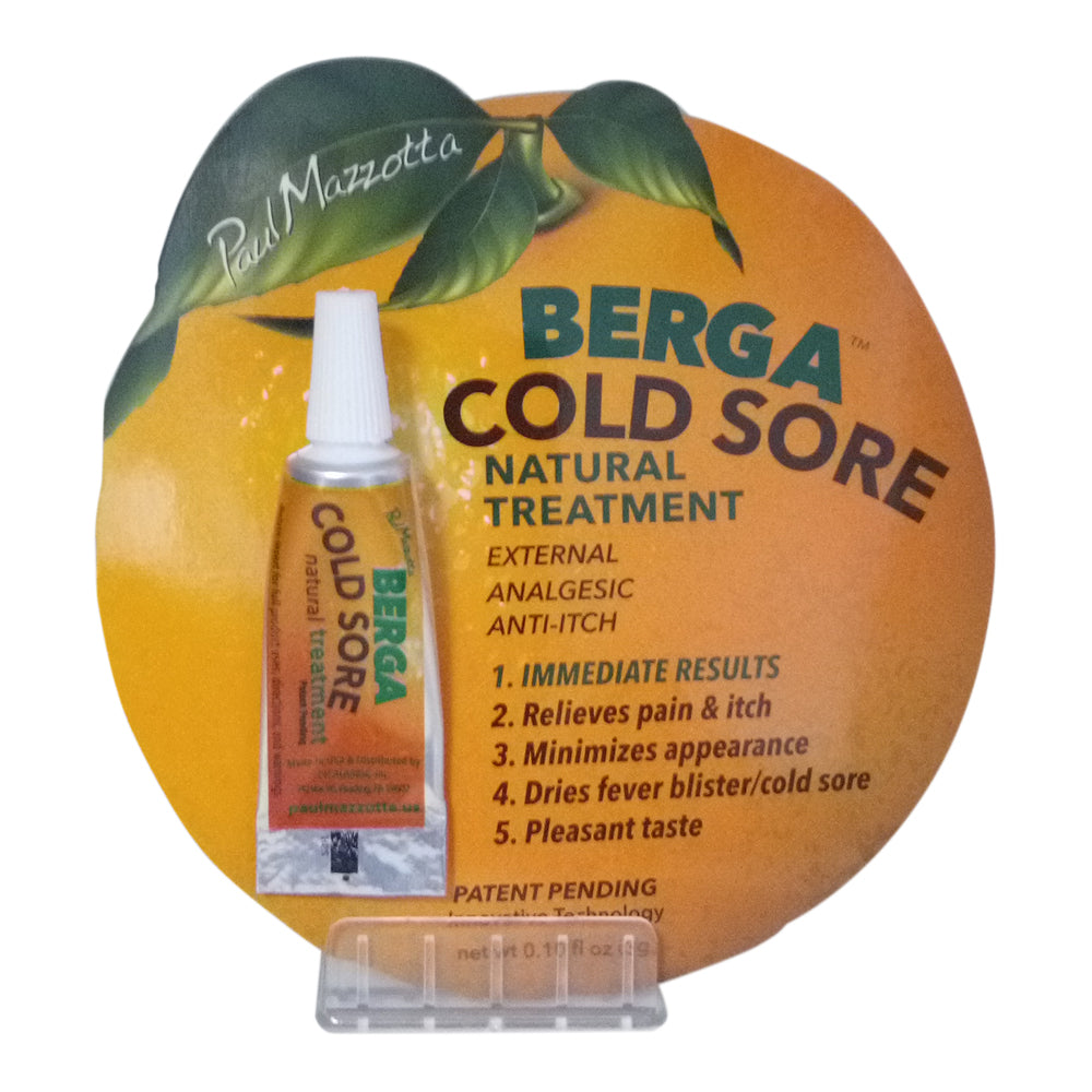 Berga Cold Sore Natural Treatment