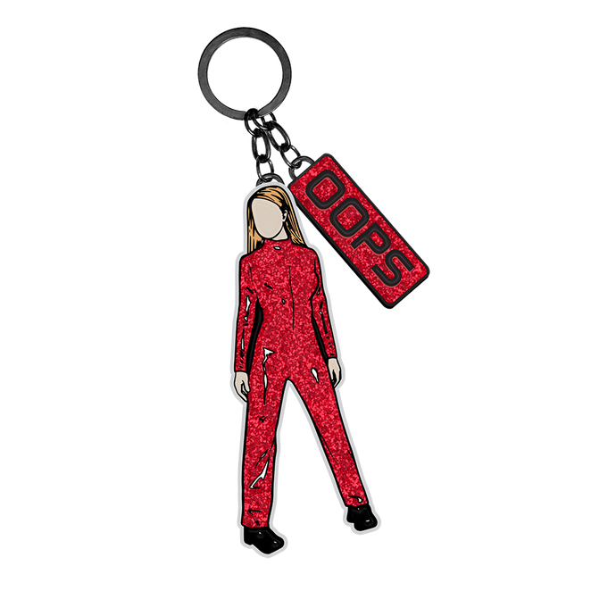 Catsuit Britney Oops Keychain
