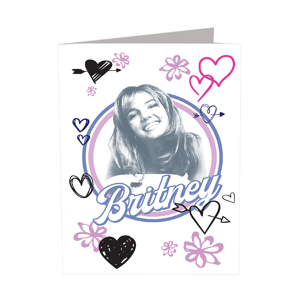 Britney 3 PC Folder Set