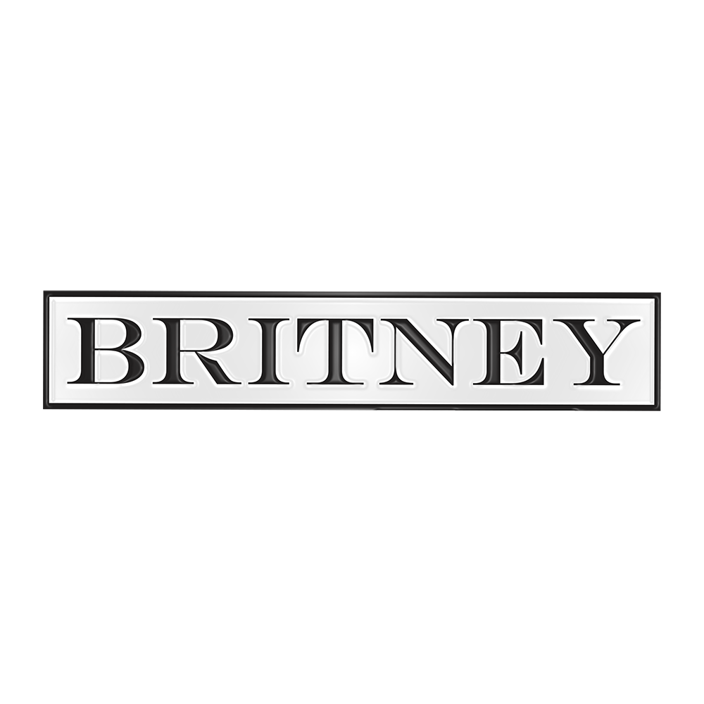 Britney 3 Piece Pin Set