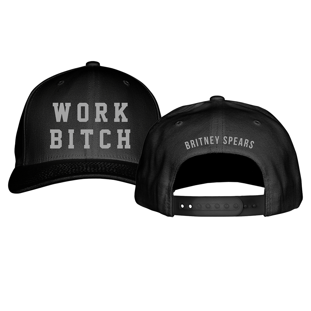 Work Bitch Embroidered Hat