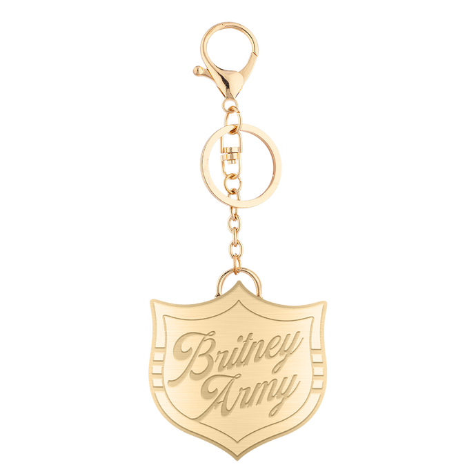 Army Gold Keychain