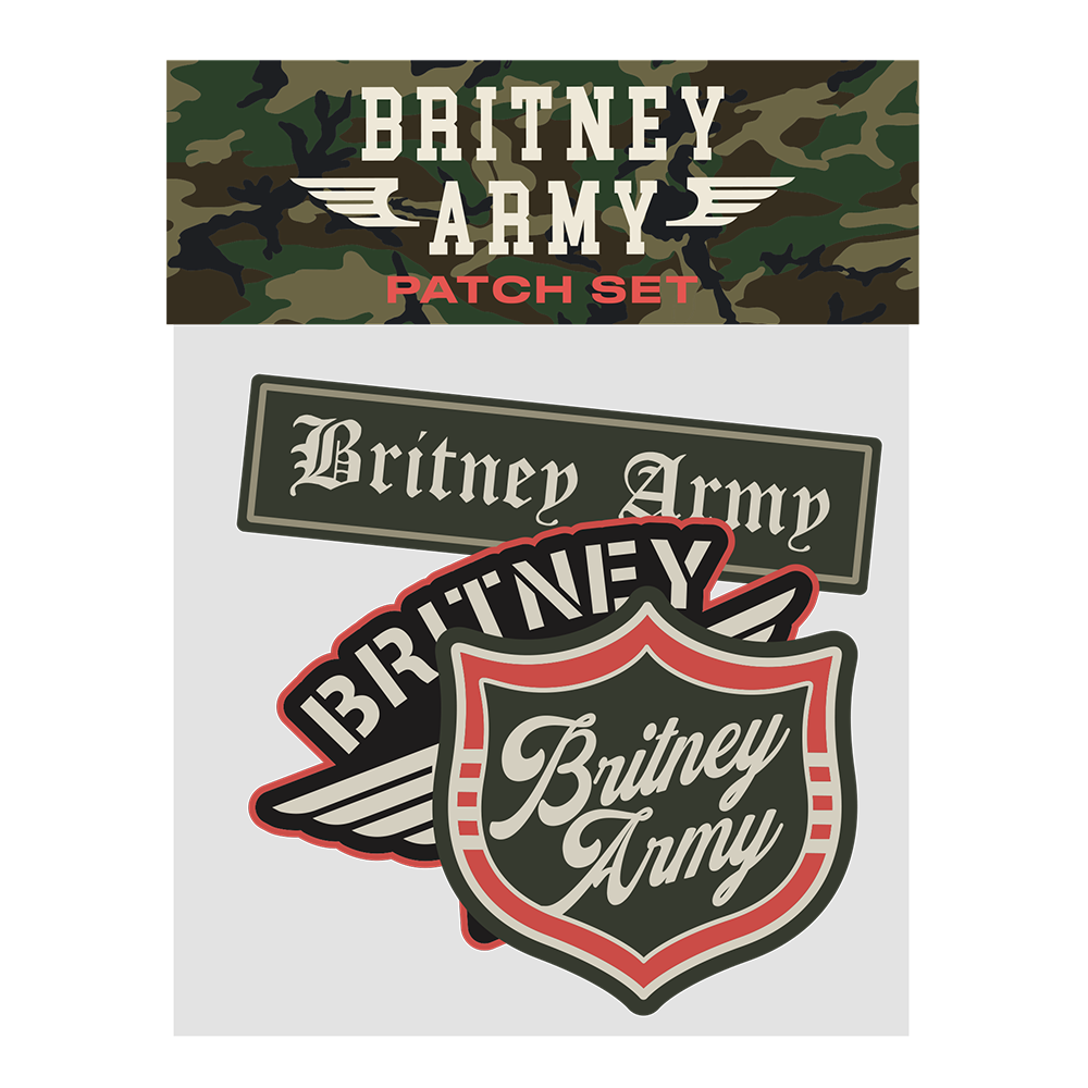 Army 3 Pc Patch Set