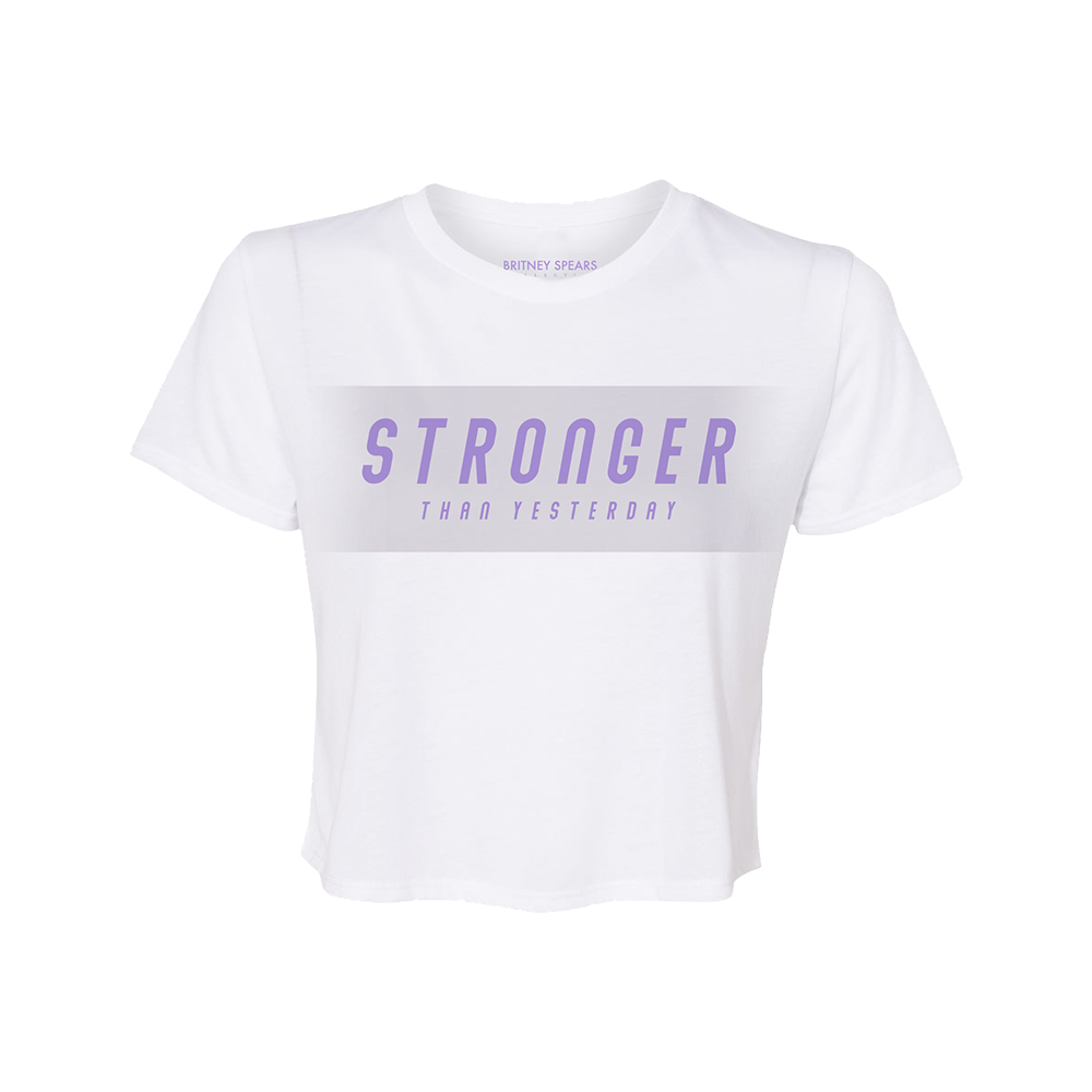 Stronger Cropped Tee