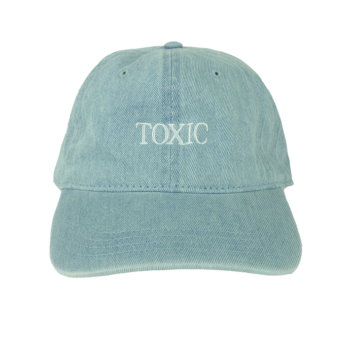 Toxic Denim Dad Hat