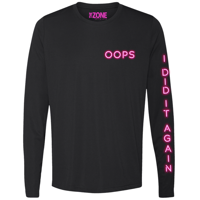 Zone Oops Long Sleeve Tee