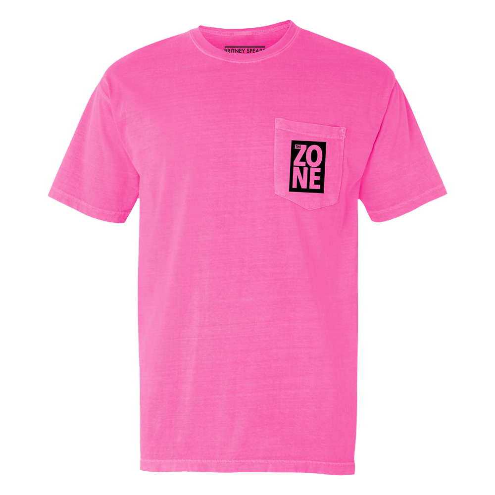 Zone Pink Pocket Tee