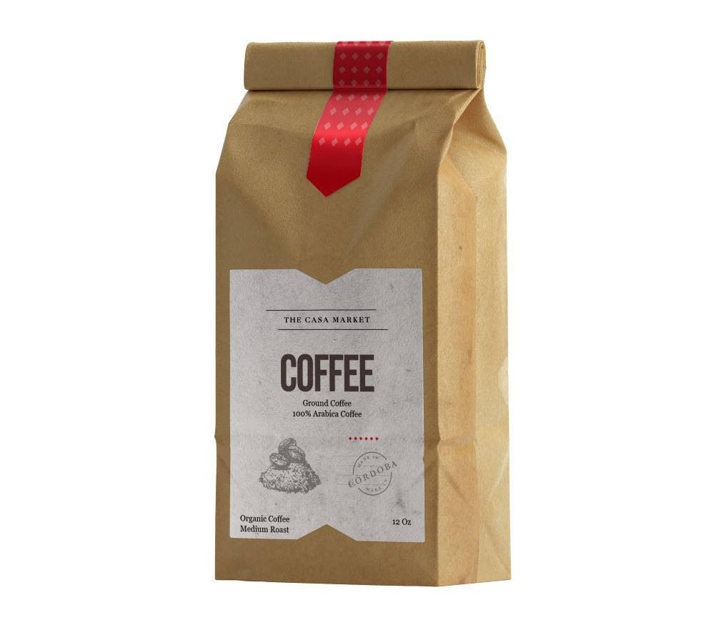 Organic Coffee Medium Roast - Ground Coffee 1 Lb Bag