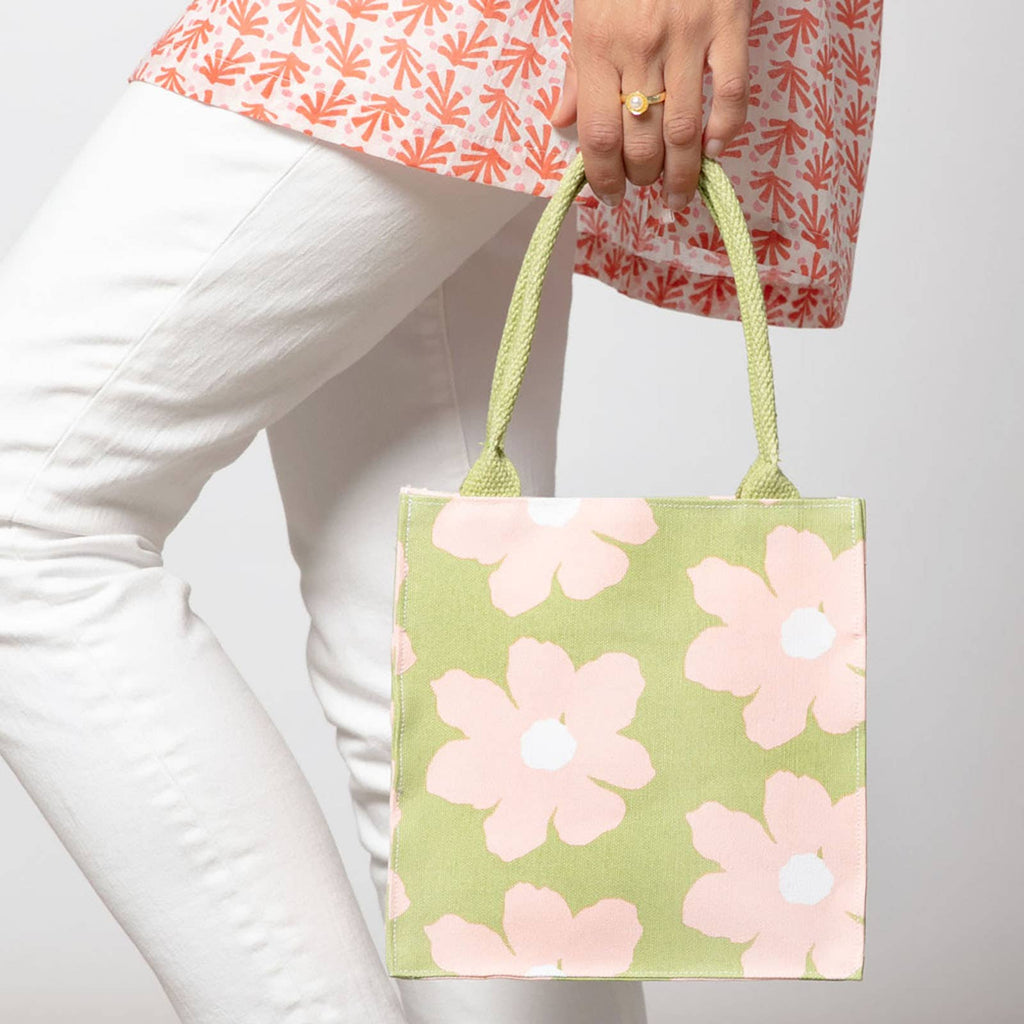 Petals Lime Itsy Bitsy Bag