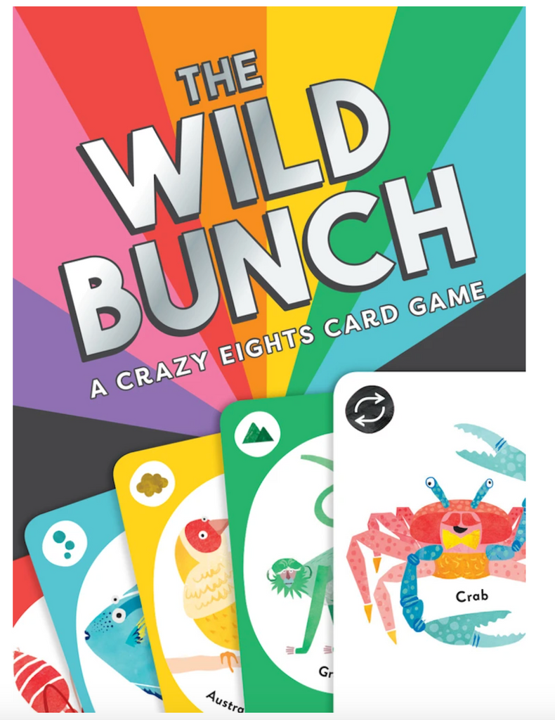 The Wild Bunch a Crazy Eights Card Game