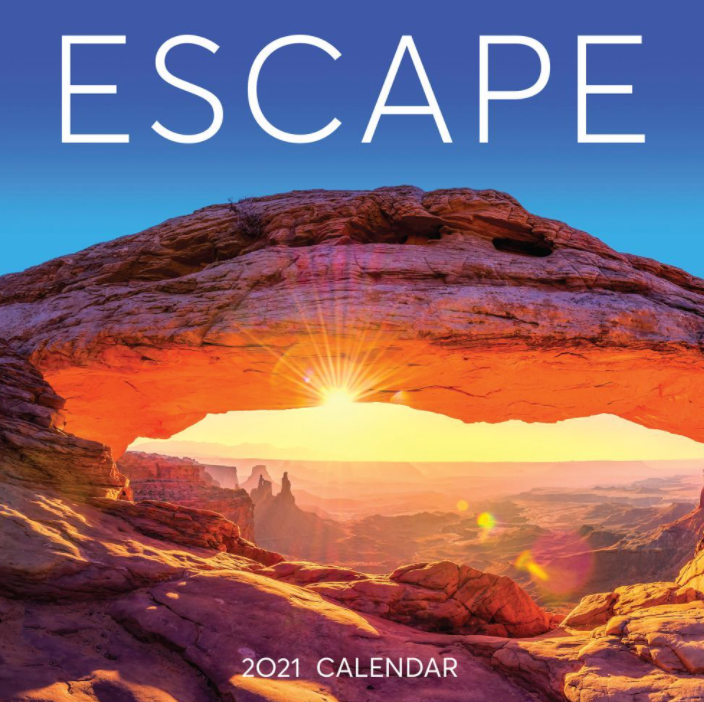Escape 2021 Wall Calendar