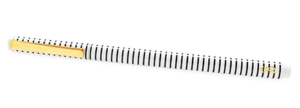 Black Stripe Desk Pen
