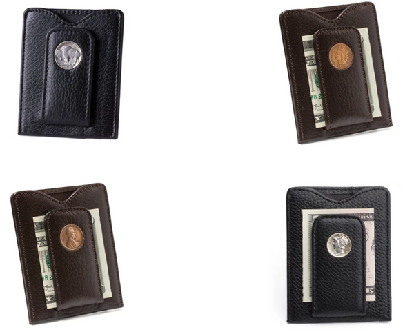 Rare Coin Money Clip Wallets