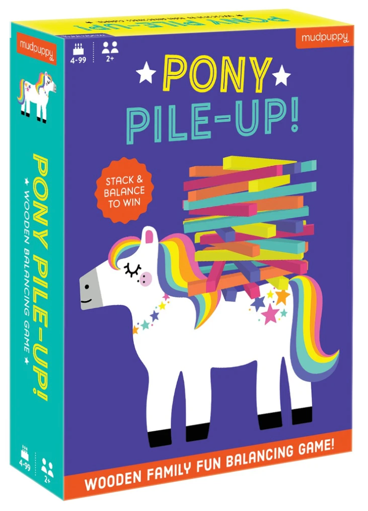 Pony Pile-Up Balancing Game
