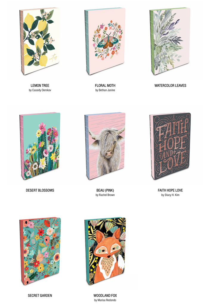 Coptic-Bound Journals by Studio Oh!