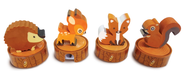 Woodland Friends Eraser & Sharpener