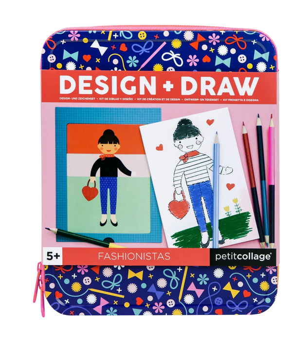 Fashionistas Design and Draw Set