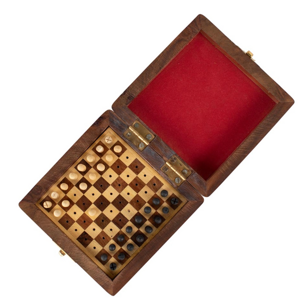 Wooden Travel Chess Set