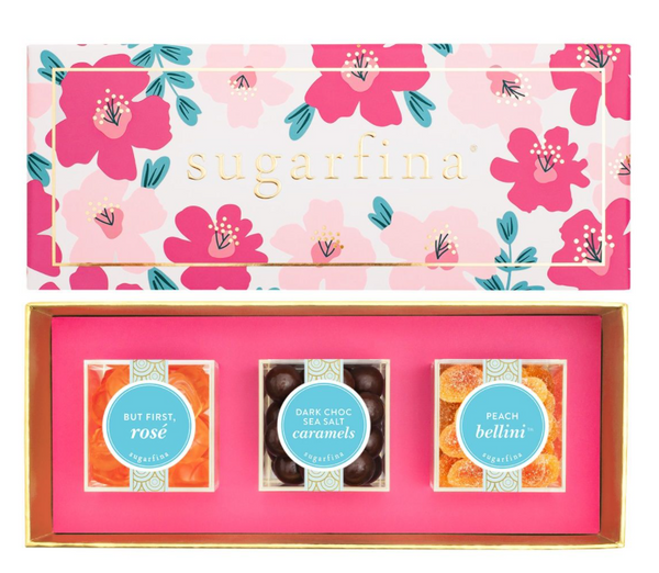 Floral 3pc Candy Bento Box by Sugarfina
