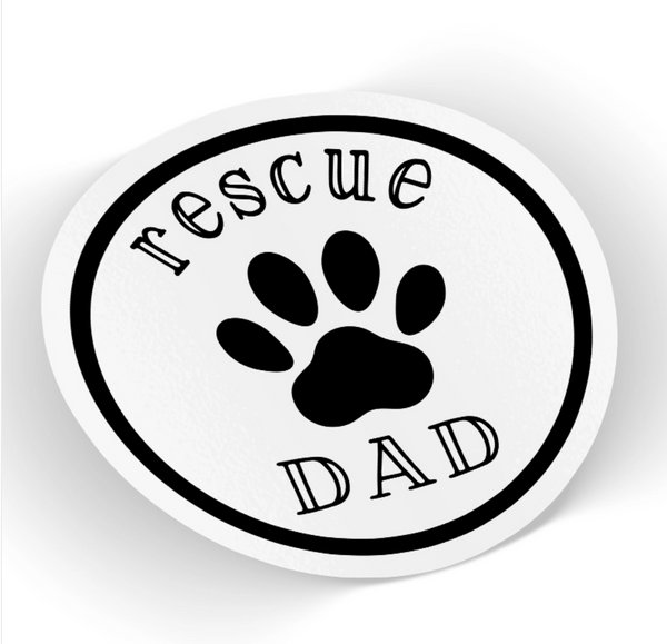Rescue Dad Sticker