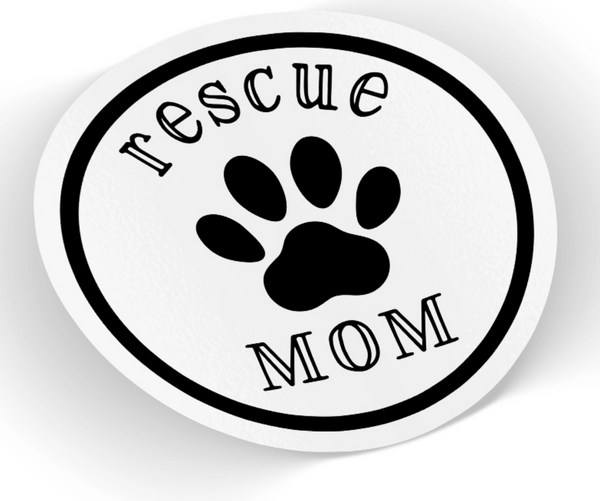 Rescue Mom Sticker