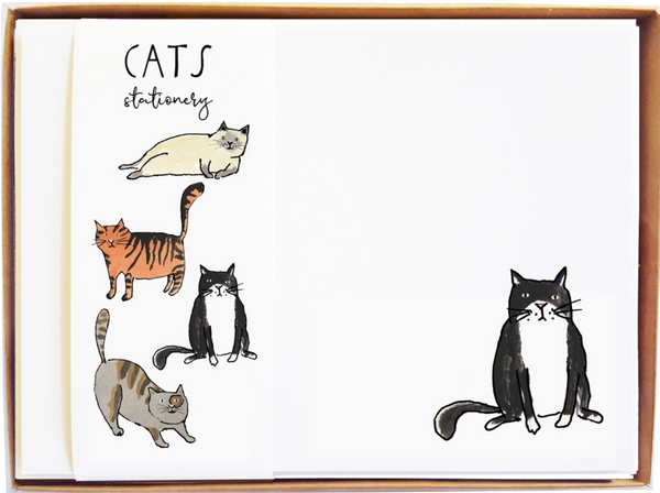 Cats Stationary - MollyOCards