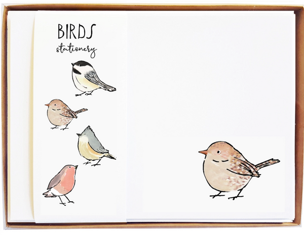 Birds Stationary - MollyOCards