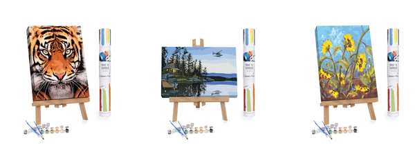 Premium Paint By Numbers Kit by Winnie's Picks